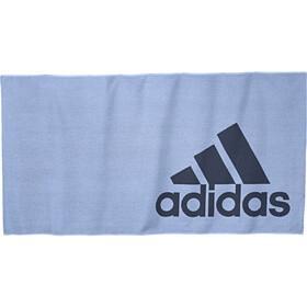 adidas Towel L glossy blue/tech ink